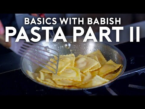 Pasta Part II Filled Pasta Basics with Babish