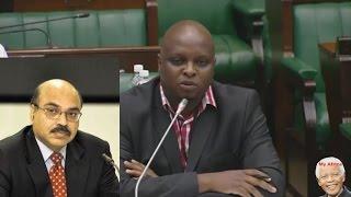Floyd Shivambu GRILLS Judge Desai On Nkandla And More.