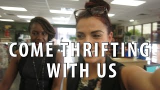 Salvation Army $2 Day!|Come Thrifting With Us|#ThriftersAnonymous