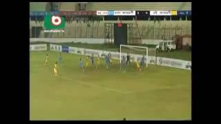 Dhaka Abahani ltd Vs Chittagang Abahani Ltd | BPL best goal by RUBEL MIAH