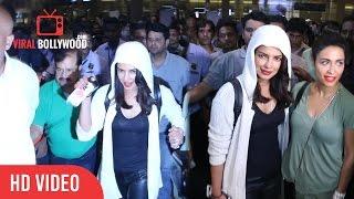 Priyanka Chopra Spotted at the international airport Mumbai | Welcome Home Priyanka