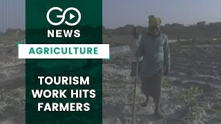 Ayodhya Tourism Work Hits Farmers
