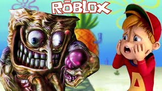 SPONGEBOB WANTS MY KRABBY PATTIES | Roblox w/ Calvin aka Fruit Snacks
