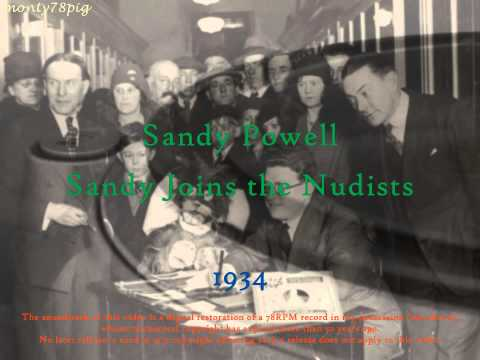 Prudish 1930's Comedy - Sandy Powell in Sandy Joins the Nudists (1934)