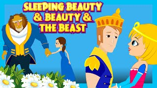 Sleeping Beauty and Beauty And The Beast - Fairy Tales For Kids | Kids Story In English