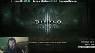 [Diablo 3] Greater Rift 141 - 4 Player (Rank 1 NA Season 12)