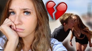 REACTING TO MY BOYFRIEND KISSING OTHER GIRLS