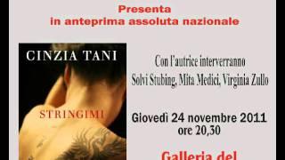 Cinzia Tani presenta Stringimi