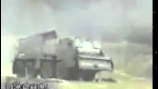 Multi Barrel Rocket Launcher Attack  By Sri Lan