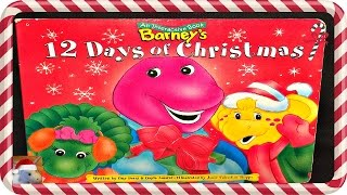 "BARNEY ""BARNEY'S 12 DAYS OF CHRISTMAS"" - Read Aloud - Story book for kids & children"