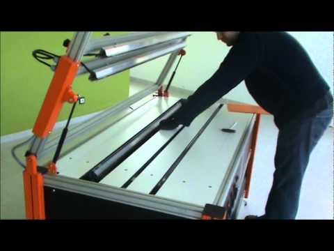 Máquinas de dobrar acrílico RGP OUPLAN