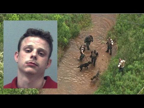 Officers K-9s searching for  extremely violent offender