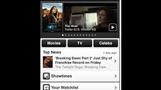 IMDB App Movie Reviews