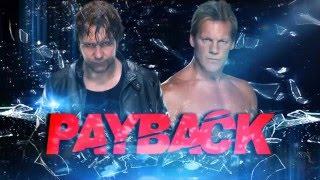 WWE Payback 2016 - Dean Ambrose vs Chris Jericho - highlights - WWE 2K16