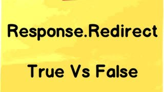 Response.Redirect ( False vs True) ASP.NET Interview questions with answers.