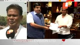 dilip ray meets Gadkari on Bramhani river project