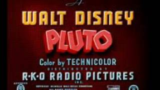 Pluto Food For Feudin Donald Duck Crazy de Daisy