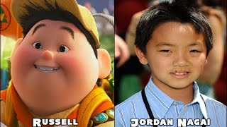 Up Disney Pixar Movie Characters And Voice Actors