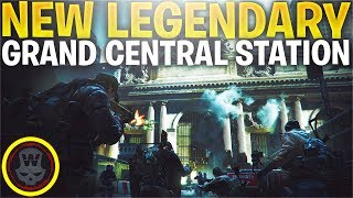 NEW LEGENDARY MISSION! GRAND CENTRAL STATION (The Division 1.8.1 PTS)