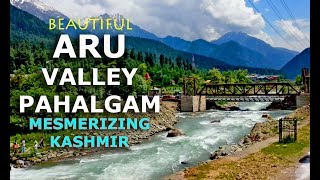Pahalgam to Aru Valley Most Beautiful Scenic Road Drive Journey Kashmir June 2015 HD Video