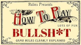 How to Play BS (card game)