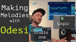 How to make melodies with generator software (Mixed in Key Odesi, Logic Pro X and Studio One)
