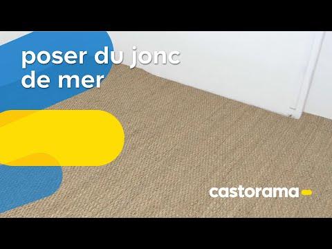 Poser du jonc de mer (Castorama)