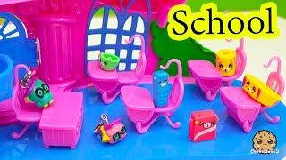 Happy Places Petkins Shopkins at School with Charm U Teacher - Play Video