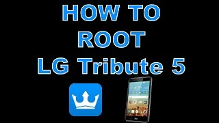 How To Root LG Tribute 5 Boost Mobile
