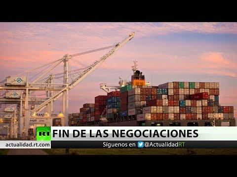 Reportan que China cancela las negociaciones con EE.UU. en medio de amenazas arancelarias