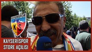 Kayserispor Store Açılışı Yapıldı - Erol Bedir, Umut Bulut Ve Futbolcularla Röportajlar