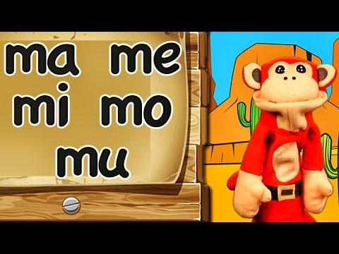 Xxx Mp4 Las Sílabas Ma Me Mi Mo Mu El Mono Sílabo En La Escuelita Divertida De Los Niños 3gp Sex