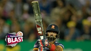 ZAIDI GOES LARGE @ LORD'S - NatWest T20 Blast: Middlesex v Essex Eagles
