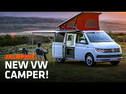 Inside The Awesome New VW Camper California