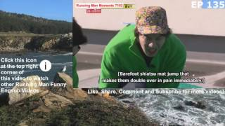 Funny Mong Ji Hyo Scold By Jackie Chan While Jumping On Acupressure Mat With Jae Suk Kwang