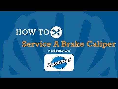 How To Service A Disc Brake Caliper