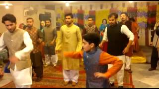 Waleed Mehndi dance
