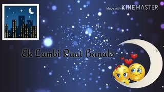 Mujhko Barsat Banalo REMAKE VERSION #Whatsaap Status