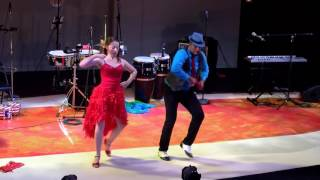 Latin Belly of Jazz - Azucar Negra - DC Casineros Amanda & Adrian