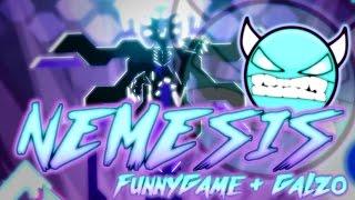 BEST BOSSFIGHT IN GEOMETRY DASH - Nemesis [DEMON] by Galzo & FunnyGame