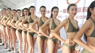 Chinese Beauty Pageant to Attract Future Flight Attendants and Models?!?!