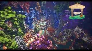Minecraft Cinematic - Amazing 4 portal underwater hub (free download)