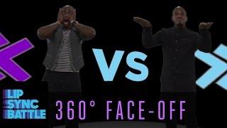 LSB 360 Face-Off: Ne-Yo vs. Taye Diggs | Lip Sync Battle