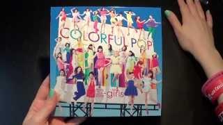 Unboxing E-Girls / 2nd Album セカンドアルバム 「Colorful Pop」 [Limited CD+DVD Edition]