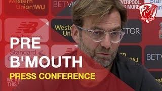 Bournemouth vs. Liverpool | Jurgen Klopp Press Conference
