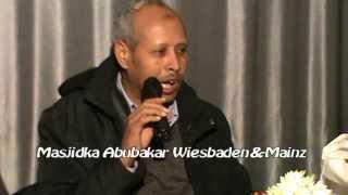 Warka Masjidka Abuubakar Oo Laga Furay Wiesbaden UniversalTv