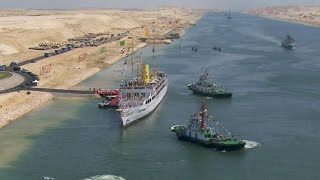 Egypt+opens+historic+expansion+of+Suez+Canal
