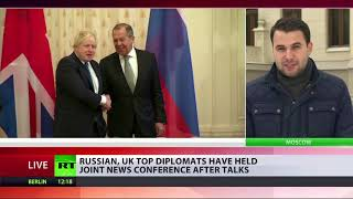Boris Johnson visits Russia with relations at all-time low