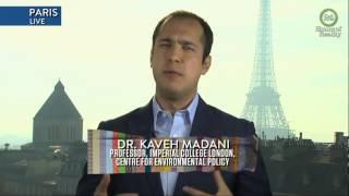 Climate Change and Renewable Energy in Iran- Kaveh Madani on 24 Hours of Reality