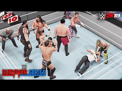 Xxx Mp4 WWE Top 10 Survivor Series 2018 Predictions WWE 2K19 3gp Sex